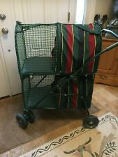 "Double Pet Stroller by ""Kittywalk"""