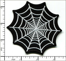 """20 Pcs Embroidered Iron on patches Spider Web 3.35""""x3.35"""" AP017gA"""