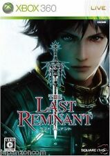 Used Xbox360 The Last Remnant  MICROSOFT JAPAN JP JAPANESE JAPONAIS IMPORT