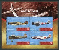 Canouan Gren St Vincent 2018 MNH WW2 WWII Airplanes 4v M/S I Aviation Stamps
