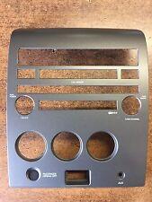 NEW OEM NISSAN 2004-2006 TITAN RADIO BEZEL FOR IN DASH CD CHANGER SYSTEMS