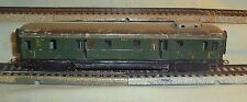 Marklin 346/4 Green Baggage Car Illuminated No Box HO