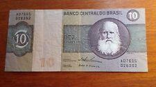 BANCO CENTRAL DO BRASIL DEZ  (10) CRUZEIROS