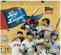 2019 Topps BIG LEAGUE Baseball MLB Trading Cards 24pk Retail Display Box-Gold PC