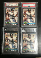 Brett Favre Lot 4 1991 Topps Stadium Club RC #94 PSA/BGS 9s Packers Rookie Farve