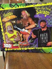 Vintage Rare Sealed WCW 100 pc Puzzle  HOGAN and Macho Man