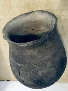 Native American Pre-historic Great Pueblo Pottery Bowl Seed  Jar