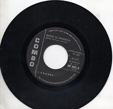 COMBOS disco 45 MADE in ITALY Sotto le lenzuola 1971 ADRIANO CELENTANO