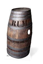 Barrel O'Rum Cardboard Cutout Fun Figure 97cm Tall - Great for Themed Parties