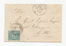 Z751-TASSATE-BUSTINA DE FLORENCIA A GALLUZZO GRAVADO 1886