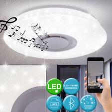 LED Decken Leuchte Arbeits Zimmer Musik Lampe Sternen Himmel Strahler Bluetooth
