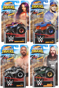 WWE Monster Trucks - Hot Wheels - New - SHIPPING COMBINES - Choose Your Truck