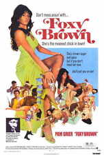 FOXY BROWN Movie POSTER PRINT 27x40 Pam Grier Terry Carter Antonio Fargas