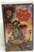 Muppet Treasure Island VHS 1996 Walt Disney TESTED