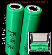 2 SAMSUNG 18650 25R 2500mAh 35A Rechargeable Battery HIGH DRAIN Vape Mods