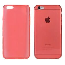 Double Power Super-Slim iPhone 6/6s Silicone Case (Red)
