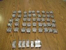 LARGE LOT OF USED METAL BATTERY HOLDERS C AND D CELL KEYSTONE ELECTRONICS 174