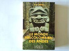 LE MONDE PRECOLOMBIEN DES ANDES 1972 ENGEL