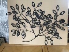 Laurel Branch Metal Wall Art