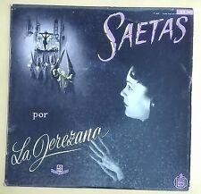 """46908 45 giri - 7"""" - SAETAS por ANA MARIA """"La Jerezana"""" - Hispa Vox (HH 1601)"""