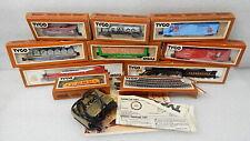 Vintage Tyco Train Set Lot HO Scale Clementine 0-8-0 Illinois Central Alco Box