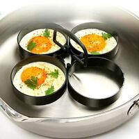 Anneau à oeufs anti-adhérent pour outil de cuisine Moule à crêpes rond