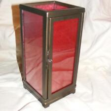 Nib PartyLite Moroccan Spice Tealight Lantern Candle Holder V-Day Bliss Stunner!
