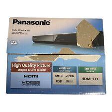 Panasonic All Region Codefree DVD Player (DVD-S700P-K) - HDMI PAL