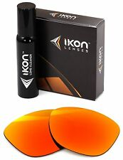 Polarized IKON Iridium Replacement Lenses For Oakley Frogskins LX Fire Mirror