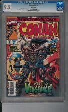 Conan the Barbarian V2 #1 CGC 9.2 7/97 0121834006