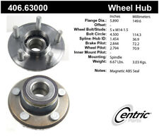 Wheel Bearing and Hub Assembly-Premium Hubs Front Centric 406.63000