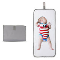 Diaper Changing Pad Baby Folding Portable Mat Travel Wipeable Waterproof Bag USA