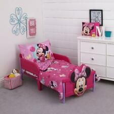 4-Piece Minnie Mouse Toddler Bedding Set Comforter Sheets Minnie Mouse Bed Set