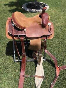 "14"" Courts - Calf Roping Saddle"
