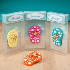 24 Flip Flop Magnets Bridal Shower Favor Beach Theme Wedding Favors