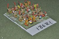 15mm renaissance / aztec - warriors 24 figures - inf (18621)