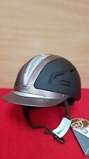 NEW BROWN CALDENE  LUMOS RIDING HAT 6 1/2(53CM)LIGHTWEIGHT JUMPING HELMET