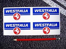 WESTFALIA Stickers Westy VW VDUB Splitty T25 BAY T2 Volkswagen Factory Size