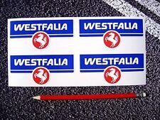 WESTFALIA Stickers Westy VW VDUB Splitty T25 BAY T2 Volkswagen Factory Size