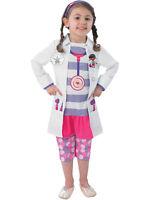 Child Disney Doc Mcstuffins Fancy Dress Costume Book Week Doctor Kids Girls BN