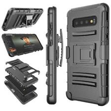 Black Shockproof Holster Belt Clip Case For Samsung Galaxy/Iphone/LG/HTC/Alcatel