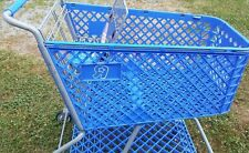 Toy's R Us shopping cart Toy Kids Store Carts Shop Fun Blue Vintage Rare