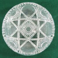 "ABP American Brilliant  Cut Crystal with a Deep Cut Design  8"" Diameter Bowl"
