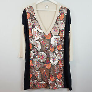 [ HOSS INTROPIA ] Womens Sequins Top  | Size S or AU 10 / US 6