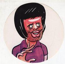 [LC5] Adesivo Caricatura Originale anni '70 - FIORENTINA DE SISTI