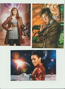 14 Dr Who Autographs Original