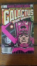 SUPER-VILLAIN CLASSICS #1 GALACTUS - THE ORIGIN (Marvel 1983) Jack Kirby vf