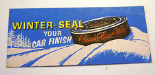 CLASSIC CAR WAX ORIGINAL STICKER DECAL NASCAR RACING ROD TOOL BOX HARD HAT SCCA
