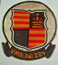 AMERICAN PATCHES-224th SQN ALL WEATHER MARINE ATTACK SQUADRON VIETNAM