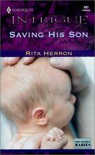Saving His Son (Top Secret Babies, Book 2) (Harleq